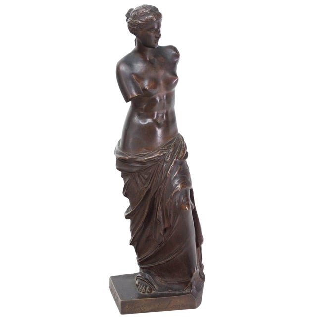 Late 19th Century French Bronze Signed Collas, Musee Du Louvre For Sale