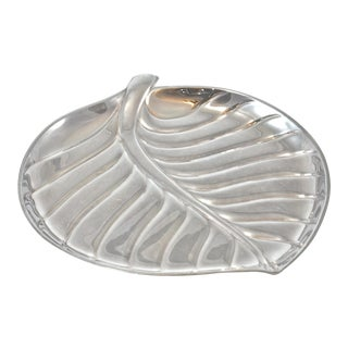 Silver Leaf Design Tray by International Silver Company