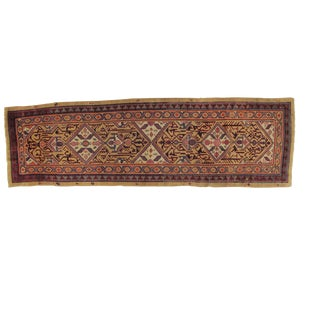 Early 20th Century Antique Bakhshaish Runner Rug - 3′3″ × 11′2″ For Sale