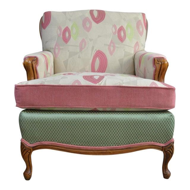 Mid-Century Gardenia Armchair For Sale