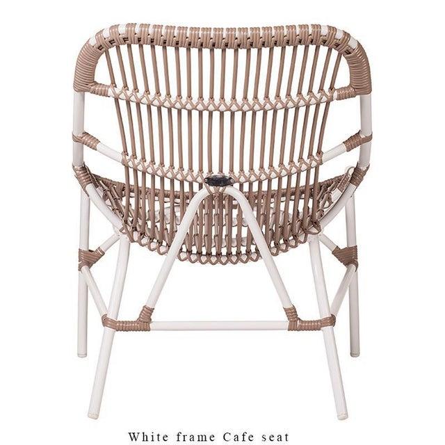 Chippendale Coronado Stackable Lounge, Café - White For Sale - Image 3 of 9