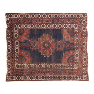 "Antique Fine Afshar Rug - 4'3"" x 5'2"""