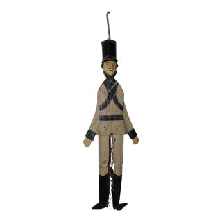 19th Century American Folk Art Toy Soldier For Sale