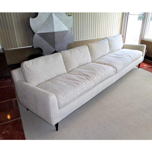 Gio Ponti Bespoke Mid-Century Sofa by Singer & Sons, 1957 For Sale - Image 12 of 12