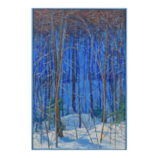 "Stephen Remick Contemporary Painting ""Up and Into the Mountains of Vermont"" For Sale"