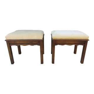 Mid Century Modern Stools - a Pair For Sale