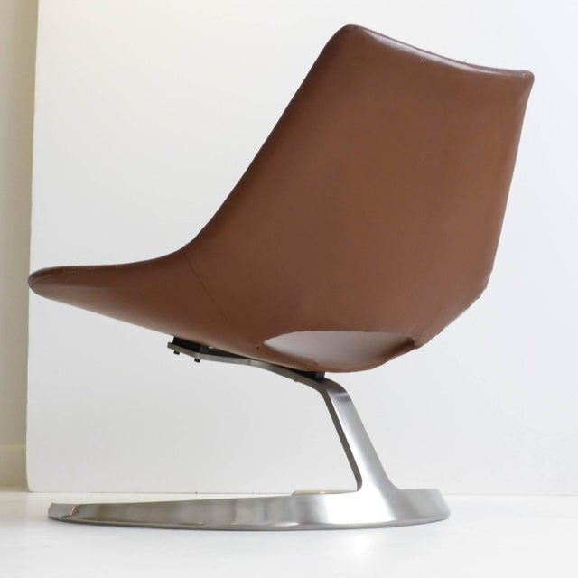 Scimitar Chair by Fabricius and Kastholm For Sale In New York - Image 6 of 11