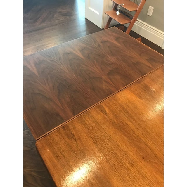 Danish Modern Dining Table with Two Leaves - Image 9 of 11