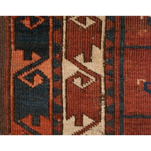 Islamic 19th Century Bashir Rug - 3′7″ × 5′ For Sale - Image 3 of 3