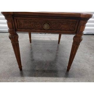 Vintage Louis XVI Henredon Walnut Side Table Preview