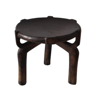 1990s African Tanzanian Hehe Stool For Sale