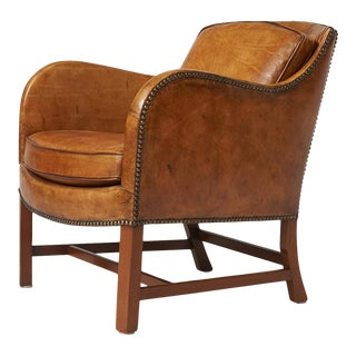 Kaare Klint and Edvard Kindt-Larsen – Arm Chair No 4396 For Sale