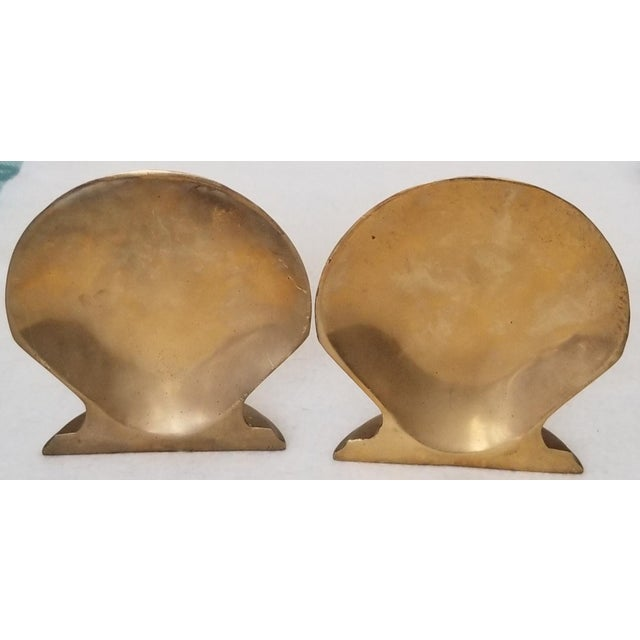 We love this extraordinary pair of clam shell bookends for their popular shape and patina. The clam shells were all the...