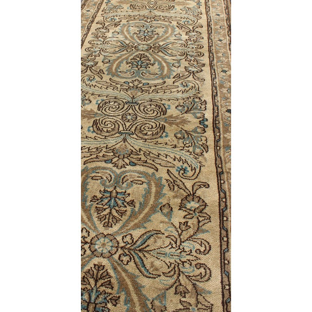 1950s 1950s Semi Antique Lilihan Runner Rug - 2′9″ × 13′ For Sale - Image 5 of 8