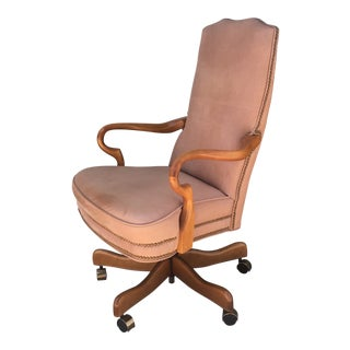 Vintage Leather Executive Chair