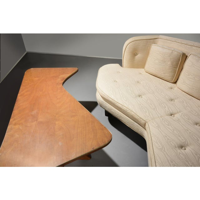 Edward Wormley for Dunbar 'Janus' Sofa Model 6329, Circa 1950s For Sale In Detroit - Image 6 of 11