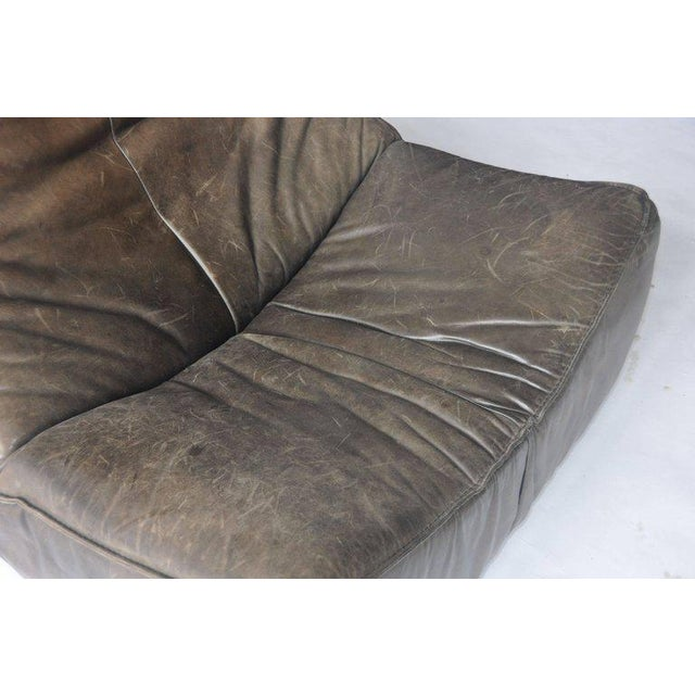 Mid-Century Modern 1970s Leather Chair by Gerard Van Den Berg for Montis For Sale - Image 3 of 9