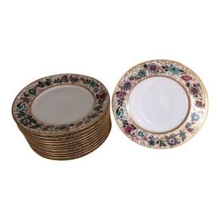 Antique Limoges Desert Plates - Set of 12 For Sale