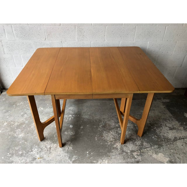 Vintage Mid Century Modern Expanding Dining Table by Edward Wormley for Drexel Furniture For Sale - Image 10 of 13