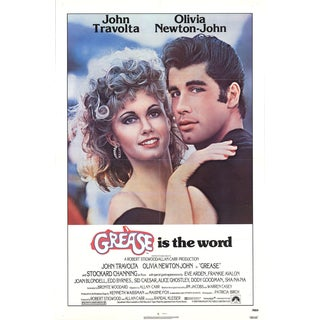 Grease 1978 Poster