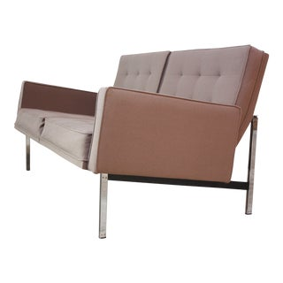 1950s Florence Knoll 'Parallel Bar' Settee For Sale
