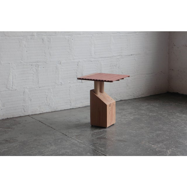 Wood Spencer Staley for the Good Mod Block Side Table For Sale - Image 7 of 7