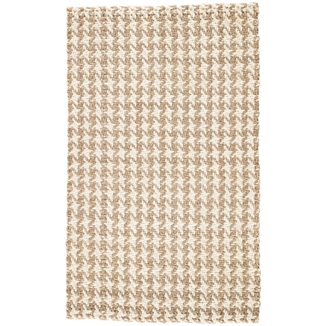 Jaipur Living Tracie Natural Geometric White/ Taupe Area Rug - 9′ × 12′ For Sale In Atlanta - Image 6 of 6