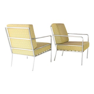 1970s Mid Century Modern Brown Jordan Inspired Lounge Chairs - a Pair For Sale