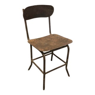Industrial Metal Chairs For Sale