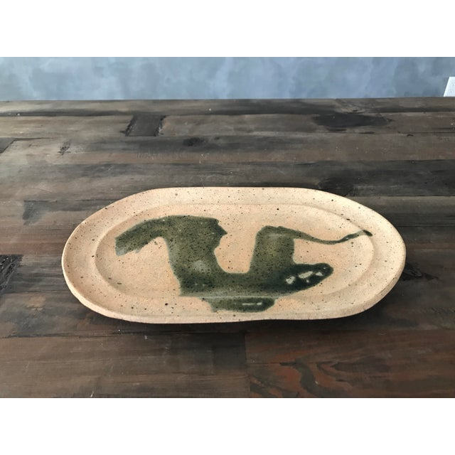 Hand Painted Clay Tray - Image 2 of 6