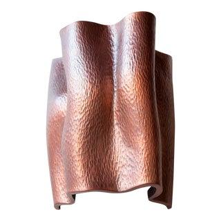 Ji Guan Sconce - Antique Copper For Sale
