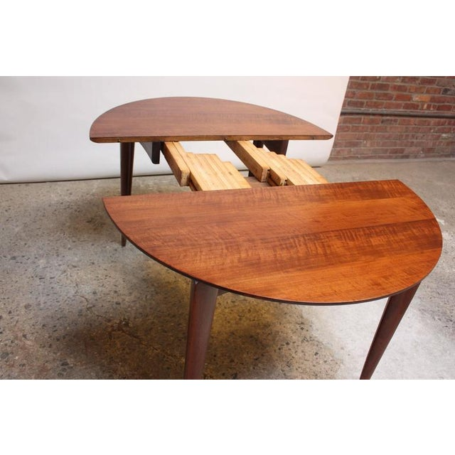 Gio Ponti Italian Walnut Dining Table for Singer & Sons - Image 7 of 11
