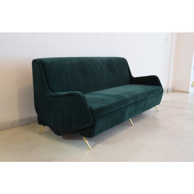 Italian Vintage Midcentury Sofa, 1950s For Sale - Image 12 of 12