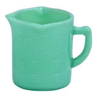 Vintage Jadeite Measuring Cup For Sale