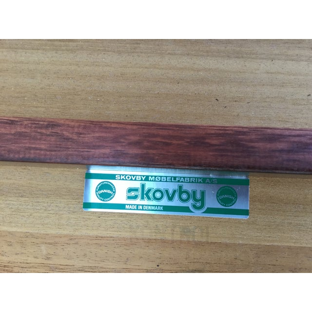 Massive Danish Rosewood Dining Table by Skovby - Image 11 of 11