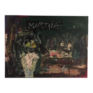 Modern Contemporary Collage on Canvas by BeRT For Sale