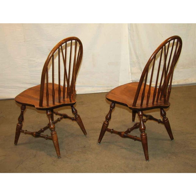 Antique Windsor Wooden Chair For Sale - Image 4 of 7