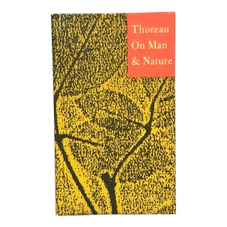 1960s Henry David Thoreau Decorative Book For Sale