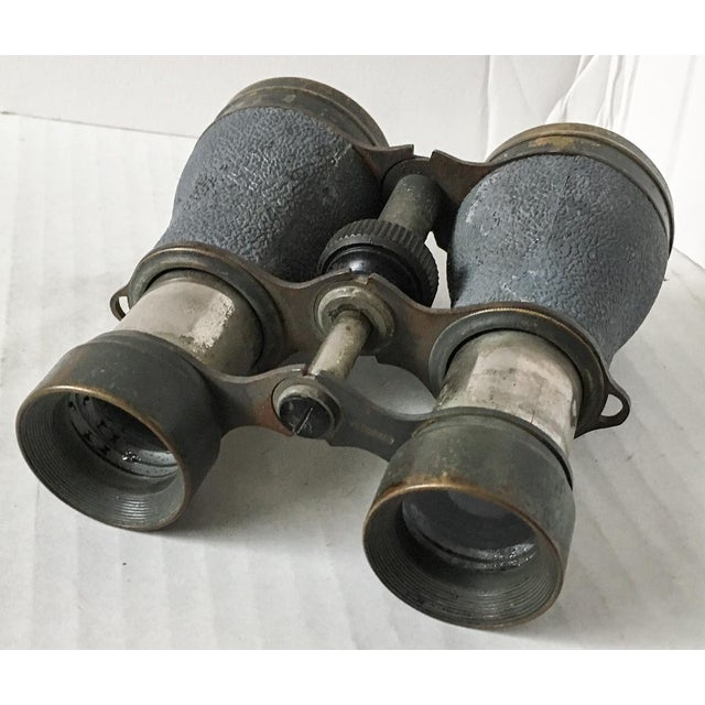 Antique Metal Opera Glasses Magnifying Binoculars For Sale In Richmond - Image 6 of 8