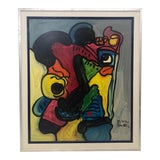 """Image of Peter Keil """"Out of Sorts"""" Painting For Sale"""