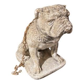 English Concrete Bulldog For Sale