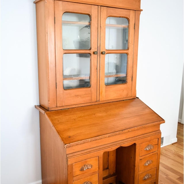 darby furniture co desk reddick home secretary hutch with pdx