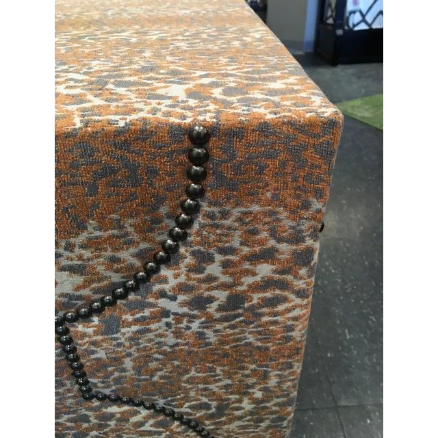 Wesley Hall Fabric Covered Console Table - Image 5 of 8