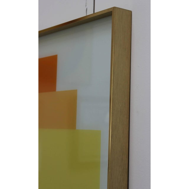 Art Glass 1970s Modern Op Wall Art by Turner For Sale - Image 7 of 11
