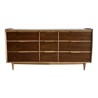 Kent Coffey Walnut Dresser For Sale