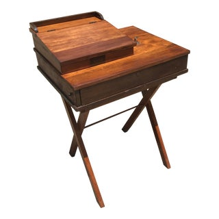 Antique Wooden Cash Drawer With Bell by Dalton For Sale