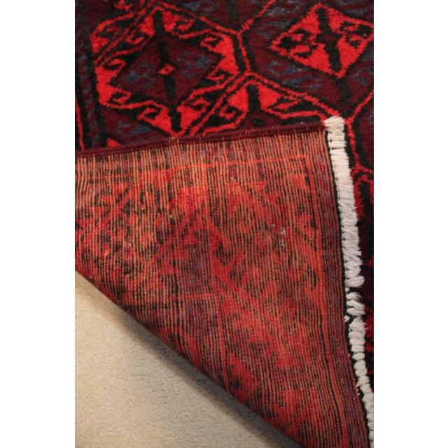 "Textile Antique Arak Wool Area Rug - 3'5"" x 6'8"" For Sale - Image 7 of 9"
