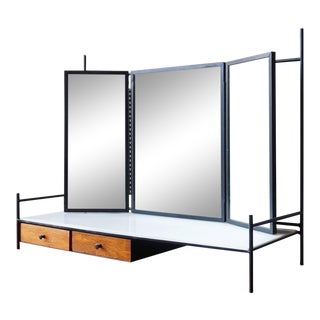 Paul McCobb Triple-Mirrored Vanity For Sale