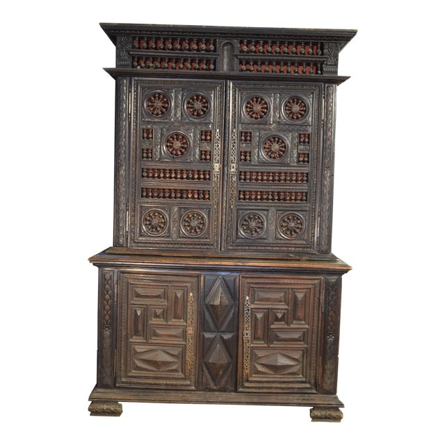 19th Century French Double Buffet For Sale