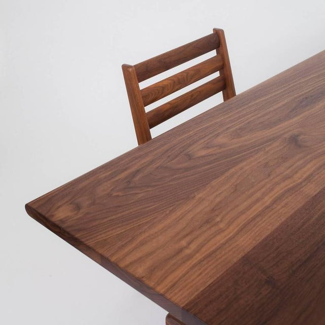 Bespoke Asa Pingree Physalia Walnut Dining Table For Sale In New York - Image 6 of 9